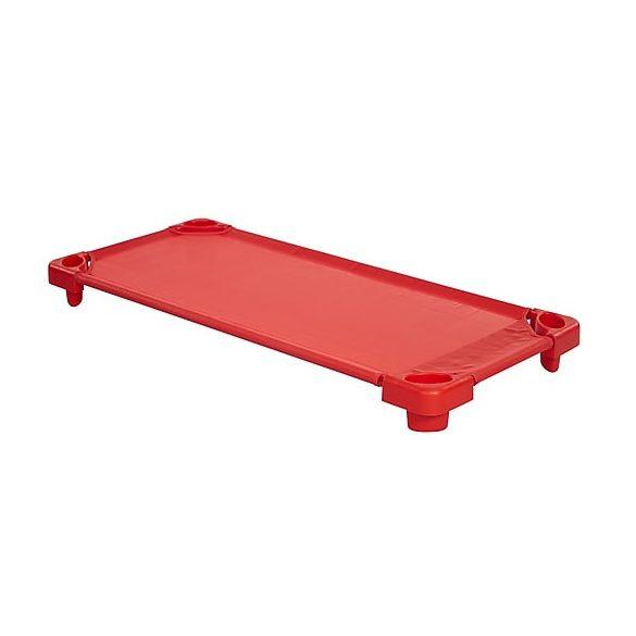 Tactic Color Óvodai rakásolható fektető ágy, extra cserélhető felülettel, 133x58x12cm,