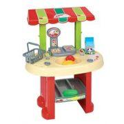 Piaci stand boltos szerepjátékokhoz gyermekeknek
