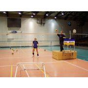 Röplabda tréning edzéssegítő -  röplabda tréning partner dobogó fix