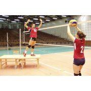 Röplabda  tréning edzéssegítő -   röplabda tréning partner dobogó , összehajtható, gördíthető, könnyen mobilizálható