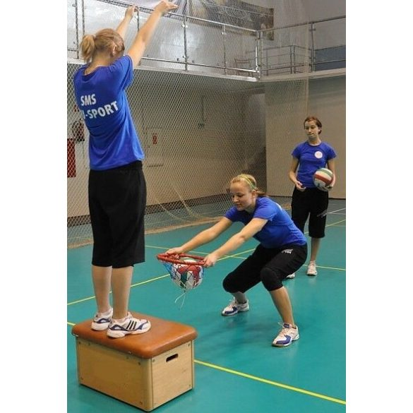 Röplabda tréning edzéssegítő - labdafogó gyűrű - Tactic Sport