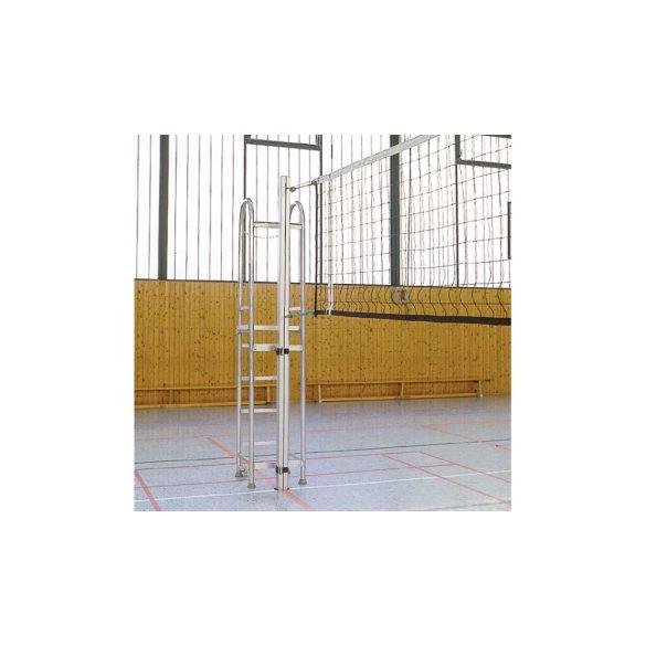 Mobil gördíthető könnyű, bírói állvány szivacs védőburkolattal röplabda