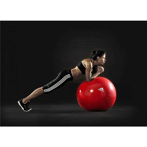 Adidas 65cm vörös gimnasztika labda ajándék pumpával