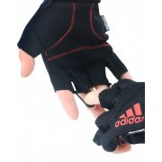 Adidas adclimate fitness kesztyű, lehúzó pánttal L, súlyzós edzésekhez