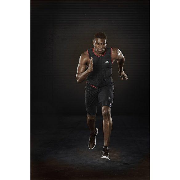 Adidas 10Kg súlymellény zipzárral, állítható súlyokkal