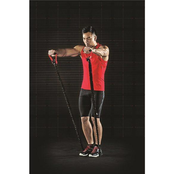 Adidas állítható hosszúságú fitness tube textil bevonattal Közepes erősséggel, edzőtermi