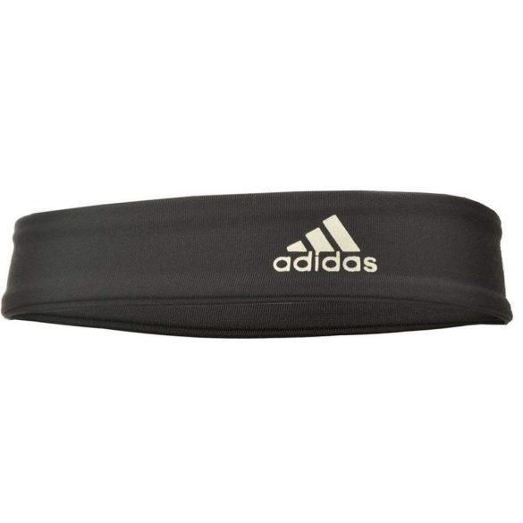 Adidas sótétszürke fejpánt, uni méret