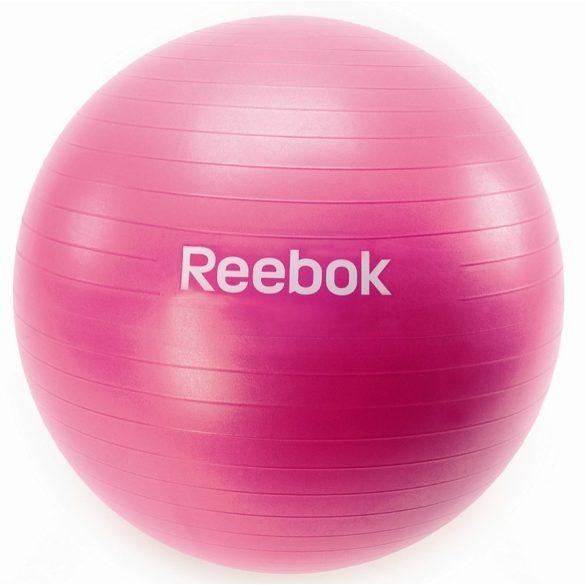 Reebok 65cm gimnasztika labda Magenta színben ajándék DVD-vel