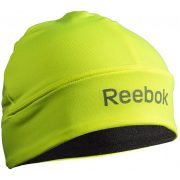 Reebok Neonzöld / Fekete elasztikus kifordítható futósapka