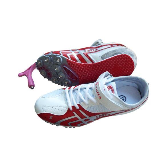 Középtávfutó szöges cipő Salta, utolsó pár kifutó  sötétkék színű