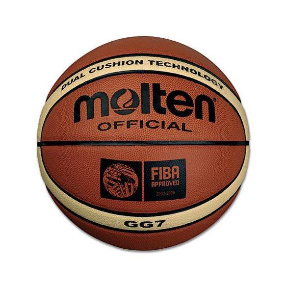 Molten GG7 kosárlabda ,FIBA minősített, 7-es, kül-beltéri, szintetikus bőr