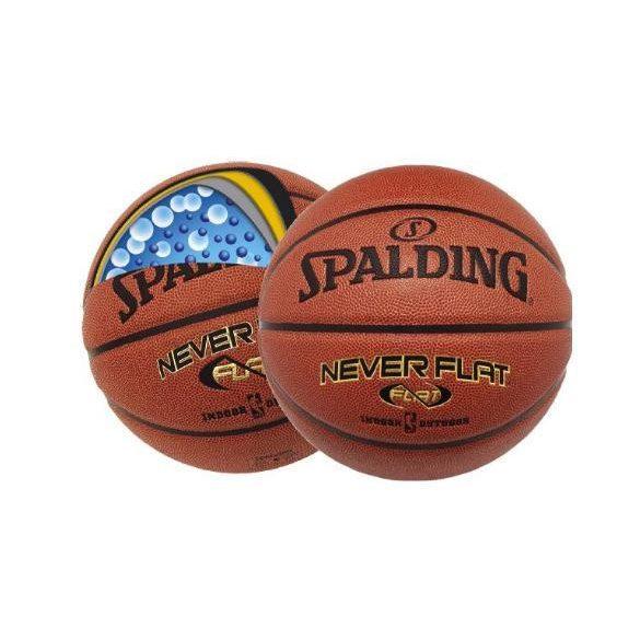Spalding NeverFlat kosárlabda 7-es méret, szintetikus bőr, kül-beltéri használatra