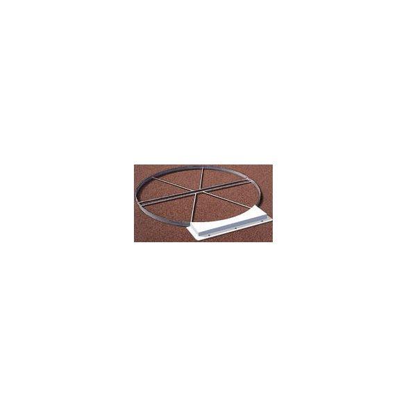 Galvanizált dobó kör 2,5m