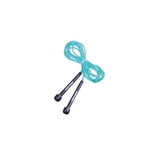 Ugrálókötél, gyors ugrálókötél, speedrope 2,43m kék, állítható hosszúsággal
