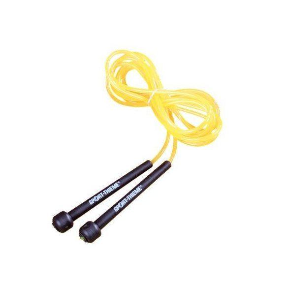 Ugrálókötél, gyors ugrálókötél, speedrope 2,74m sárga, állítható hosszúsággal