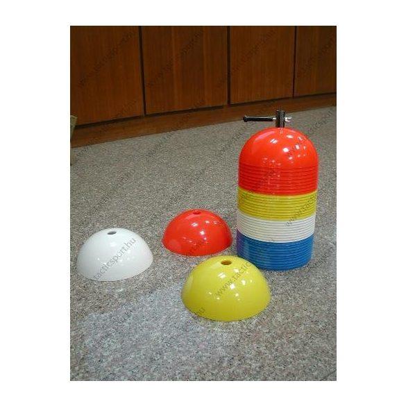 Jelzőbója, félgömb alakú, 40 db-os