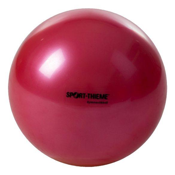 Ritmikus gimnasztika labda gyakorló, csillogó magasfényű, 16 cm átmérőjű 300gr