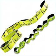 Elastiband® fitnesz erősítő gumipánt közepes erősség, 8x10 cm levarrt szakasz,
