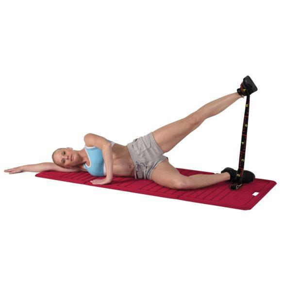 Elastiband fitnesz erősítő gumipánt erős, 8 db 10 cm hosszú