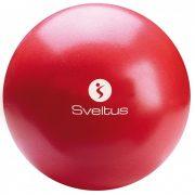 Sot Ball, Overball Sveltus, pilates torna labda 22-24 cm piros