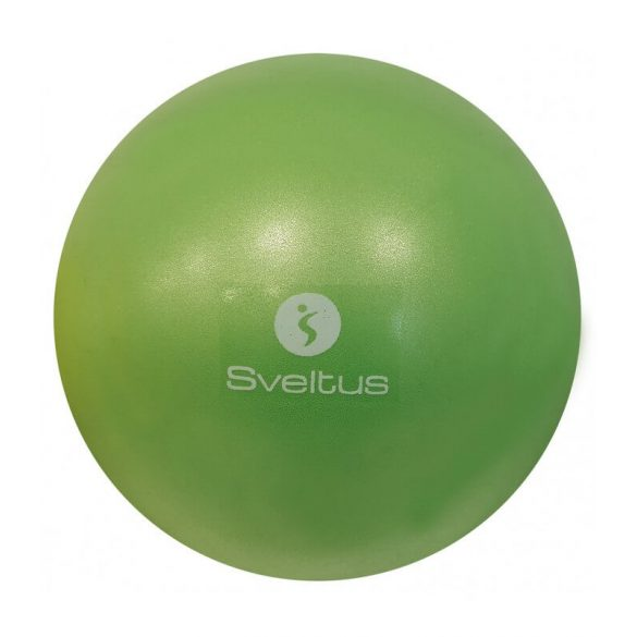 Overball Sveltus, pilates  torna labda 25 cm zöld