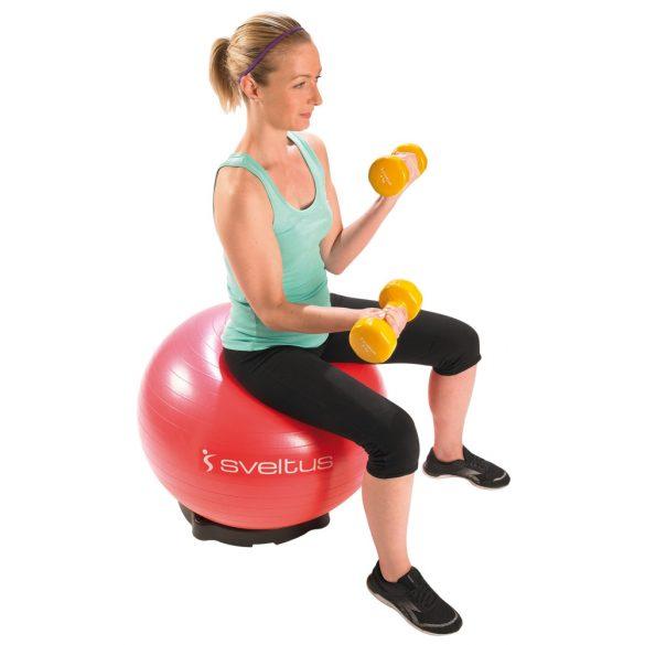 Labdatartó, gimnasztika labdához támasz 50 cm átmérővel