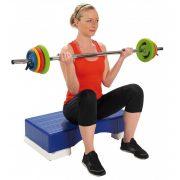 Pilates szet 16kg, súlyzókészletsúlyzó rúddal, hot iron jellegű szett