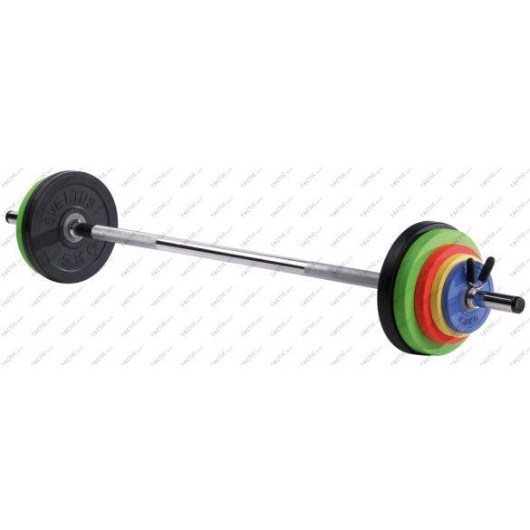 FITUS súlyzókészlet 26kg, súlyzórúddal