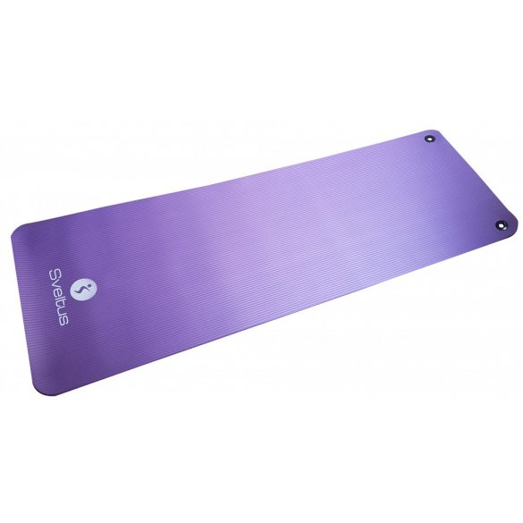 Fitness szőnyeg 180x60x1cm felfügesztő fém szemekkel, lila