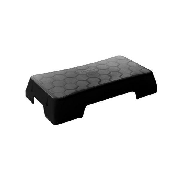 Szteppad Sveltus Ecooriginal -fekete, rakásolható, opcionálisan magasítható,  75x38x14 cm