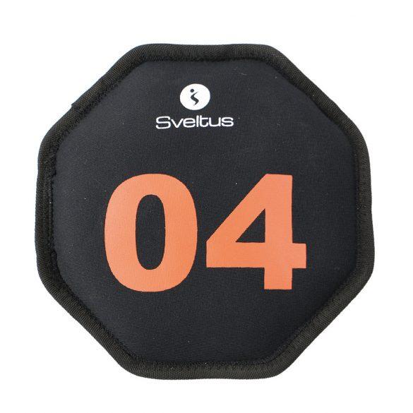 Füles edzőkorong 4 kg