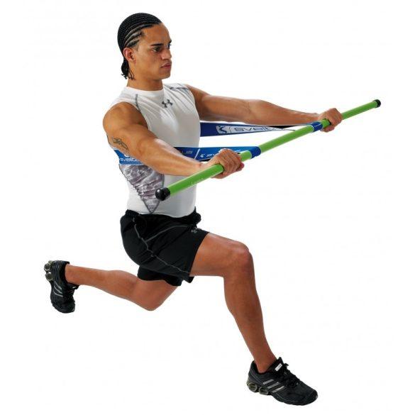 Sveltus műanyag fitness tornabot bemelegítésekhez 140x2,8 cm, súly 0,3 kg