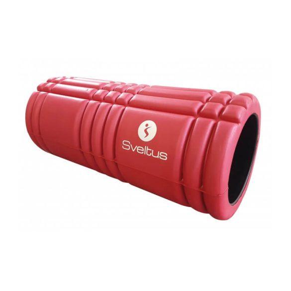 SMR henger Sveltus trigger masszázs 14x33cm, piros, strukturált felület