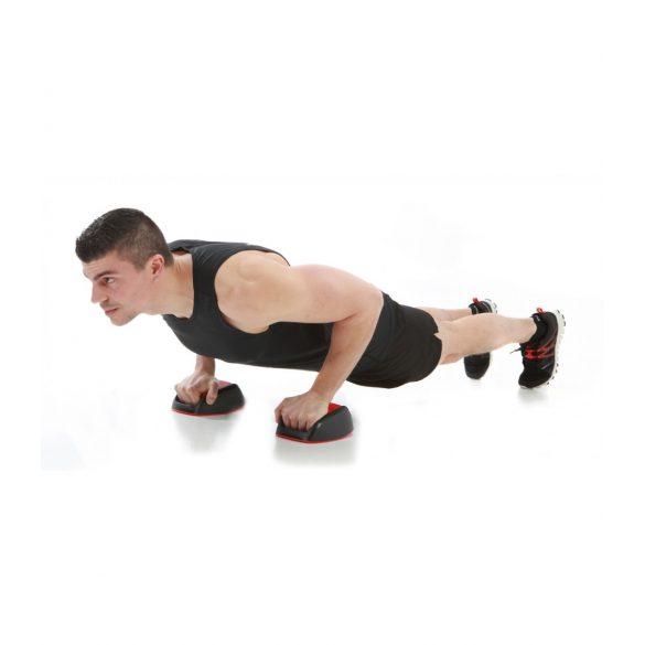 Fekvőtámasz keret core fitnesz, fix / egyensúlyozó móddal