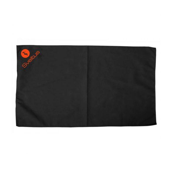 Sporttörülköző microszálas 130x80 cm, fekete, Sveltus® microfiber
