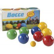 Boccia /petanque fa játékkészlet 8 db 8 cm átmérőjű golyóval