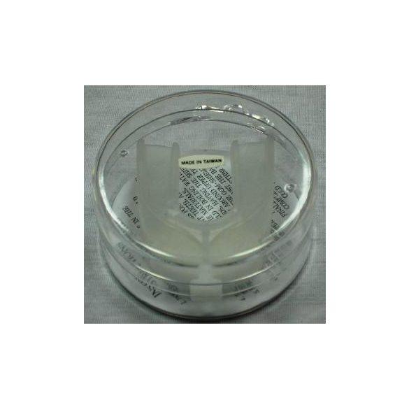 Box Fogvédő 2 soros műanyag dobozban, meleg vízes , fogsorra
