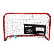 Kapu foci és floorball multisport BANDIT M 90x60x40 cm , kisméretű könnyen hordozható kapu hálóval