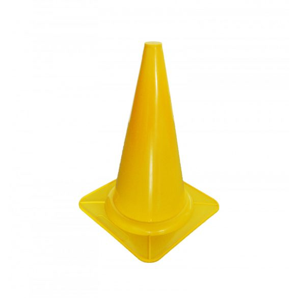 Rugalmas gumi bója 28 cm - sárga, Acito