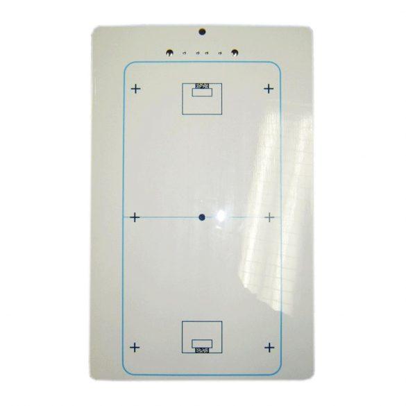 Floorball taktikai tábla műanyag, clippes, 25x40 cm, 350 gr