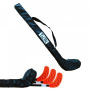 Tactic Sport floorball zsák, ütőtok egyedi ütőhöz, max. 3 db  floorball ütő tárolására alkalmas, zippes orkán