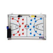 Tactic Sport mágneses tactikai tábla Kosárlabda 30x45cm , alumínium, írható törölhető, Közepes méret