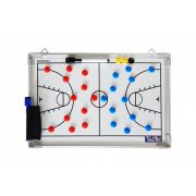 Tactic Sport mágneses tactikai tábla Kosárlabda 60x45 cm, alumínium, írható törölhető - Nagy méret