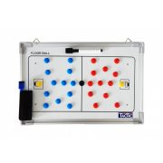 Tactic Sport mágneses tactikai tábla floorball játékhoz 30x45cm , alumínium, írható törölhető, Közepes méret