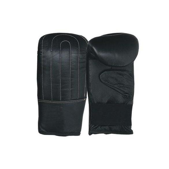 Tactic Sport Bőr zsákolókesztyű fekete színben L