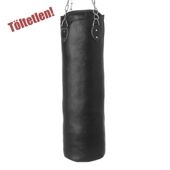 Tactic Sport Fedett bőr boxzsák 100x40cm töltetlen