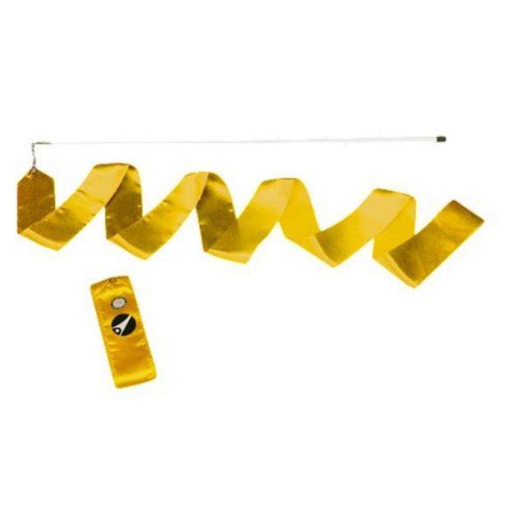 Tactic Sport Ritmikus gimnasztika szalag pálcával 6m - sárga