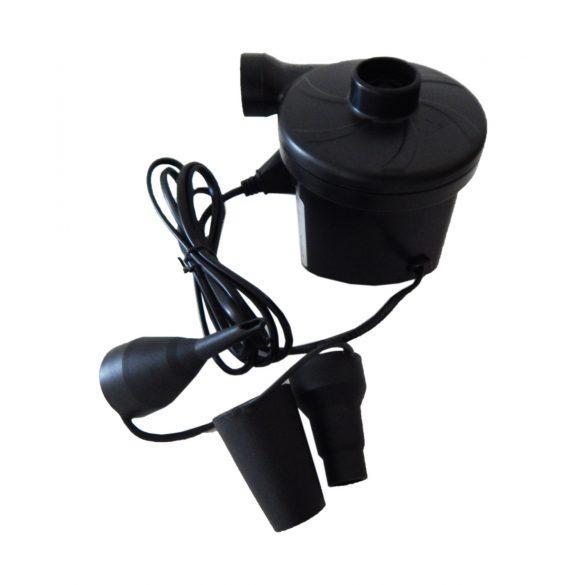 Elektromos pumpa szivargyújtóról és elemmel is működtethető