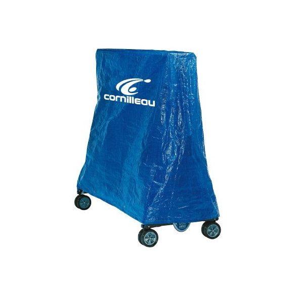 Cornilleau Challenger kék kültéri időjárásálló ping pong asztal családi komplett kiegészítő felszerelés csomaggal - ingyenes házhozszállítással