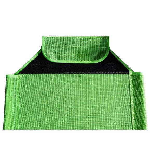 Pót fekvőfelület 133x58cm fektetőhőz zöld